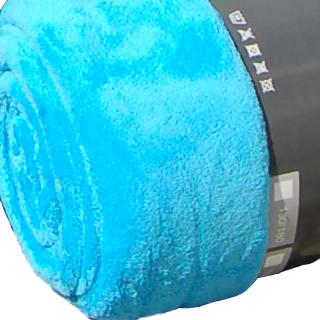 flauschige xxl coralfleece decke 220 x 240 cm microfaser linie 3 ebay. Black Bedroom Furniture Sets. Home Design Ideas