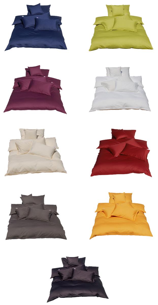 d93ed4bfdc beties Bettbezug Mako Satin aus 100% Baumwolle 155x220 cm
