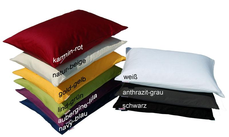 2 x beties kissenbezug mako satin aus 100 baumwolle 40x60 ebay. Black Bedroom Furniture Sets. Home Design Ideas