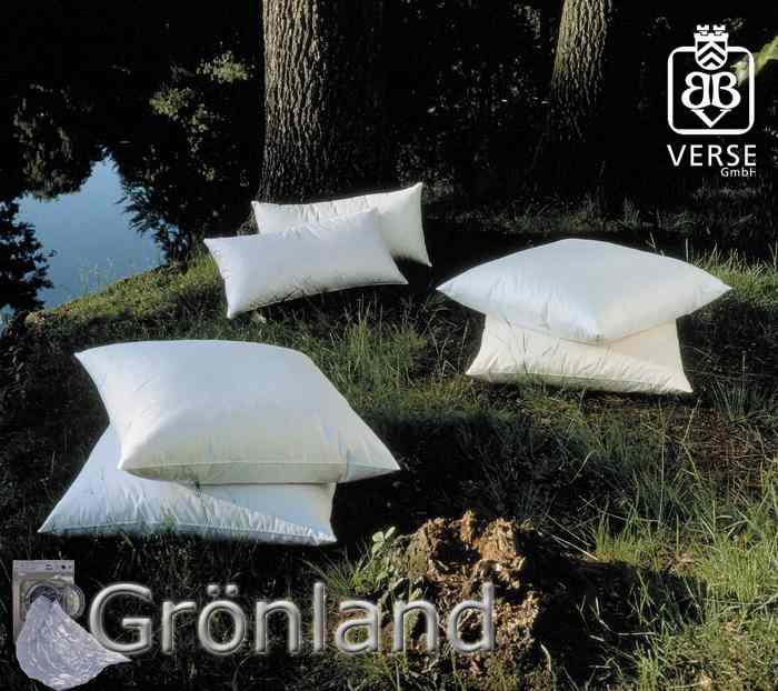 Grönland 40x80 Kissen Mittel Weich 500g Grönländischen